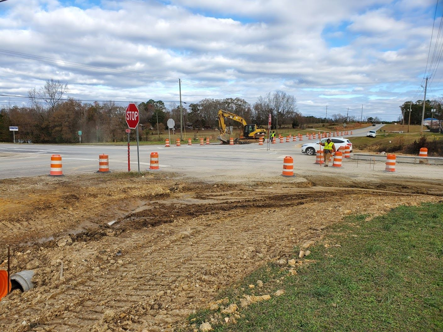 Gateway Drive and Society Hill Road Intersection Construction