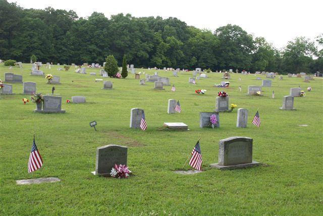 Veterans Flags Over Whole Cemetery