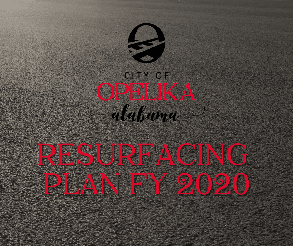 Resurfacing Plan FY 2020