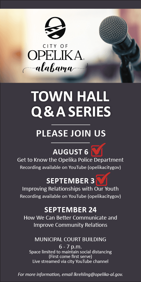 Town Hall Series September 24