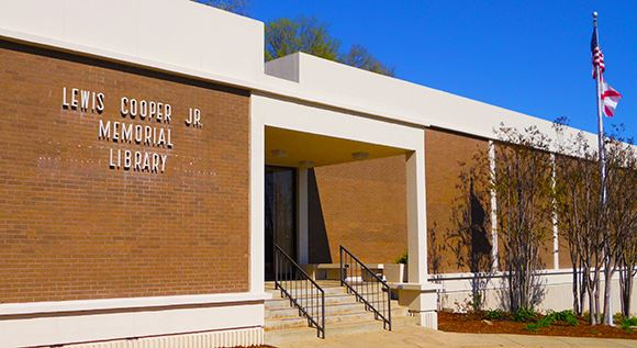 Photo of Cooper Library Building