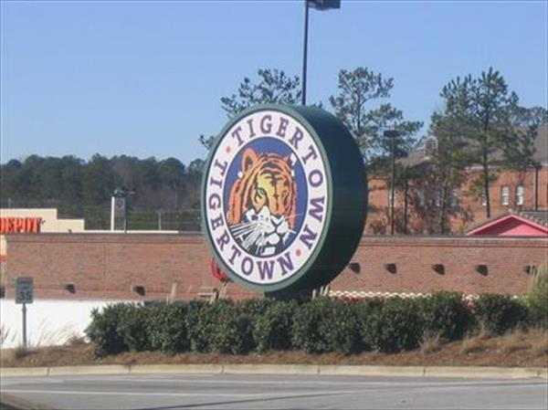 Tiger Town Sign