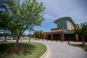 Opelika SportsPlex and Aquatics Center entrance